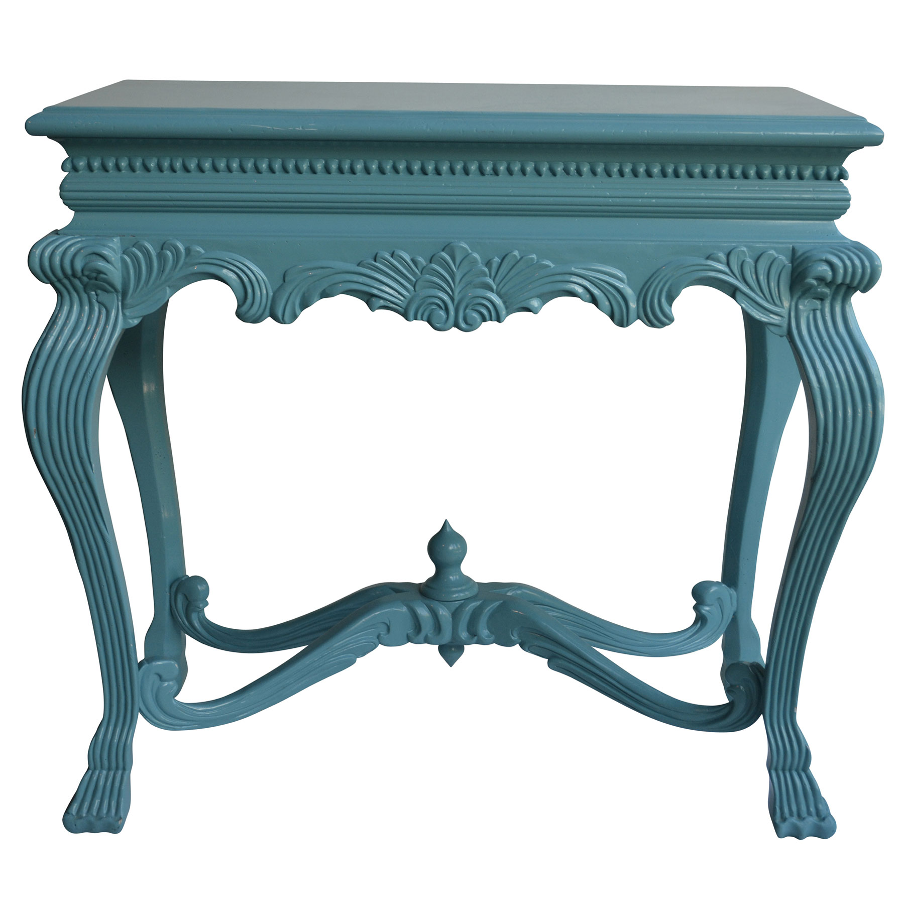 Tantelizing Teal Console Table