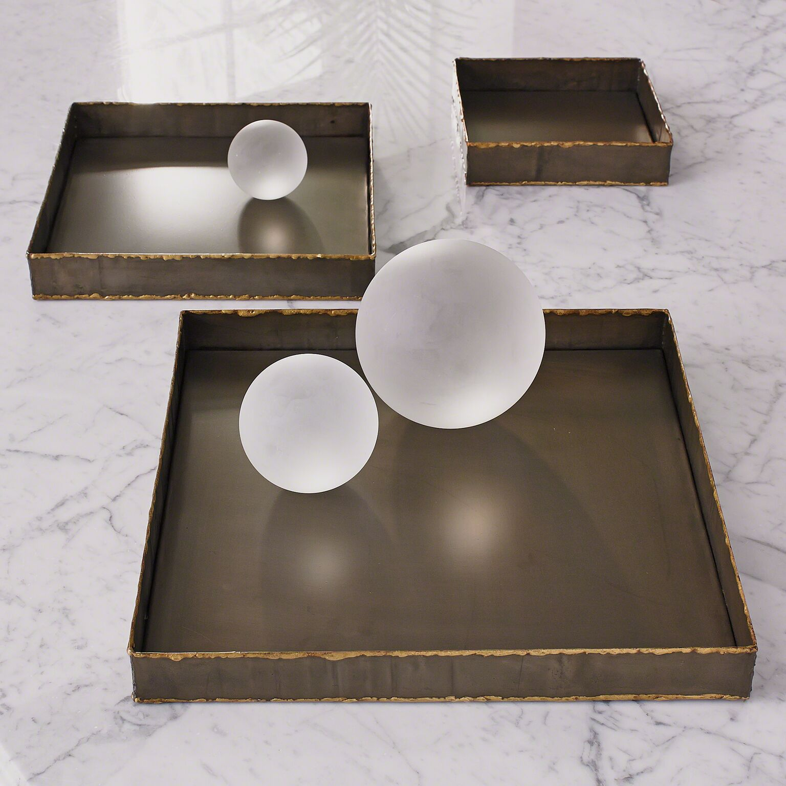Laforge Brass Tray- Med.
