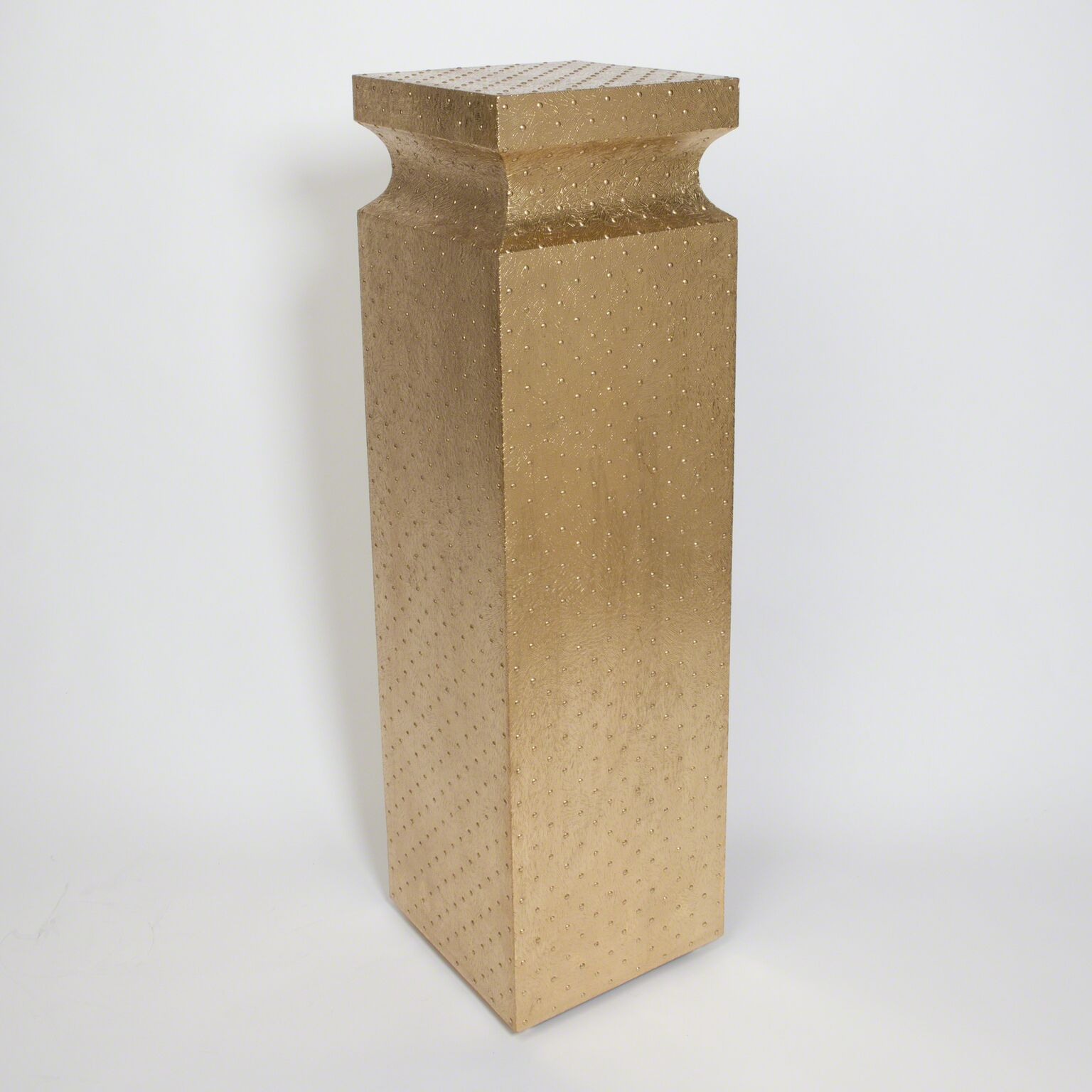 Gold Metal Pedestal